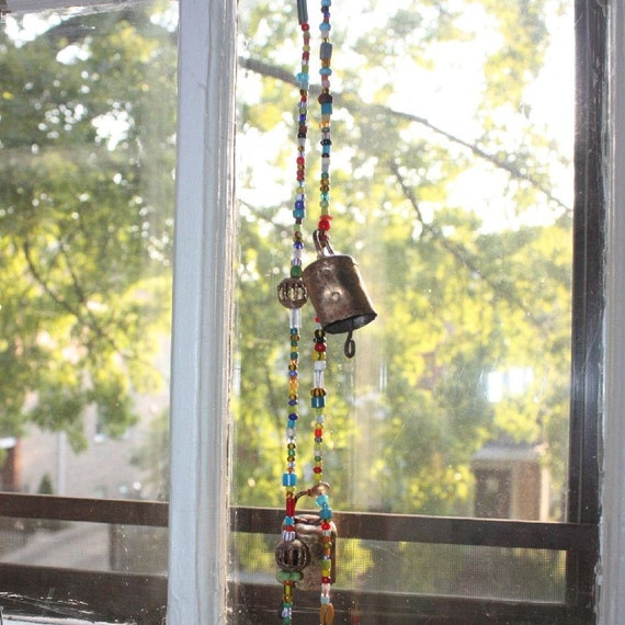Bells and Chimes with Trade Beads