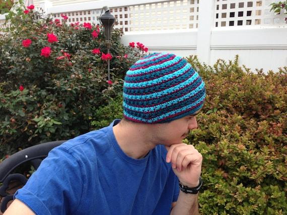 Crochet Patterns For Hats For Men Crochet Pattern Beanie Hat