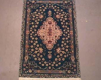 1980s Vintage, 200-line, Sino-Persian Rug (1496)