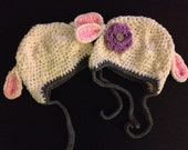 Lamb hat for baby