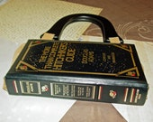 Hitchhikers guide to the Galaxy Leather Book Purse