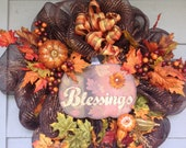 Fall Is A Blessing Wreath