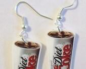 Diet Coke Earrings- Pop Earrings