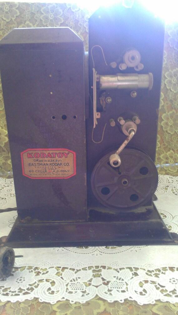 Vintage Kodak hand crank projector (Kodatoy)