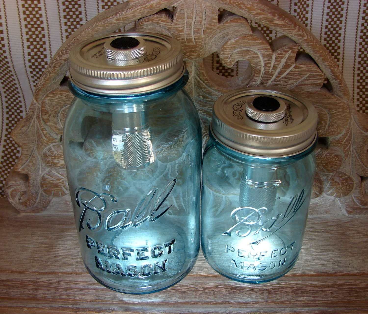what are mason jar lids made of