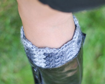 Ravelry: Crocheted Boot Cuff Boot Covers Toddler to Adult