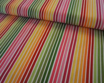 Remix Stripe in Garden by Ann Kelle for Robert Kaufman Fabrics - price is by the yard