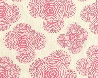 Amy Butler Fabric - Floating Buds in Ivory - Midwest Modern Collection