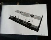"digital print ""The Mixtape"""