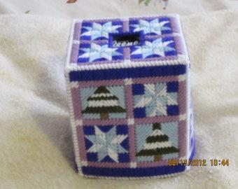 WINTER SCENE Boutique Tissue Box Covers