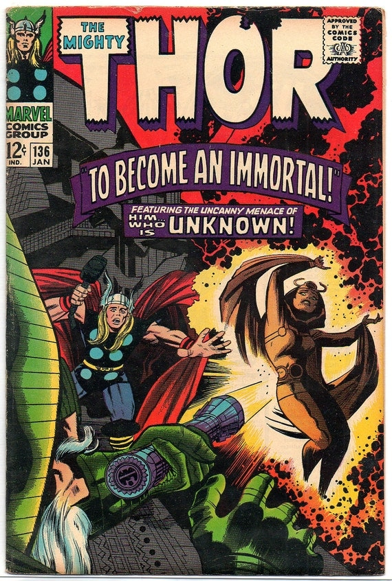 The Mighty Thor 136