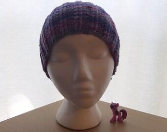 My Little Pony Inspired Knit Beanie - Twilight Sparkle