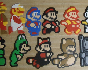 8 bit Evolution of Mario Power-ups (11 pc. Set)