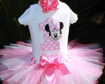 3pc Minnie Mouse Tutu set