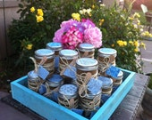 BOY BABY SHOWER Favors : Organic Sugar Scrubs Set of 15. Frogs and Things and Dragon Fly Wings That's What Little Boys Are Made Of