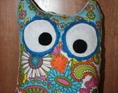 Plush Owl Mini Pillow Toy