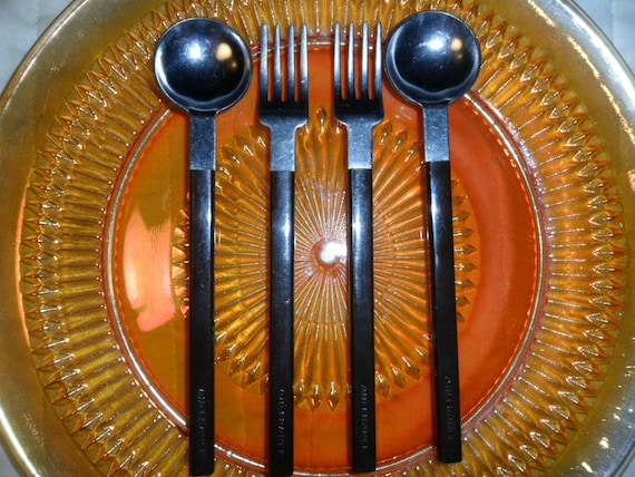 Air France Concorde flatware designed by Raymond  Loewy