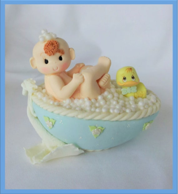 Cake Toppers Baby Shower Boy : BABY SHOWER Cake topper.Baby boy cake by ForeverSweetfavors