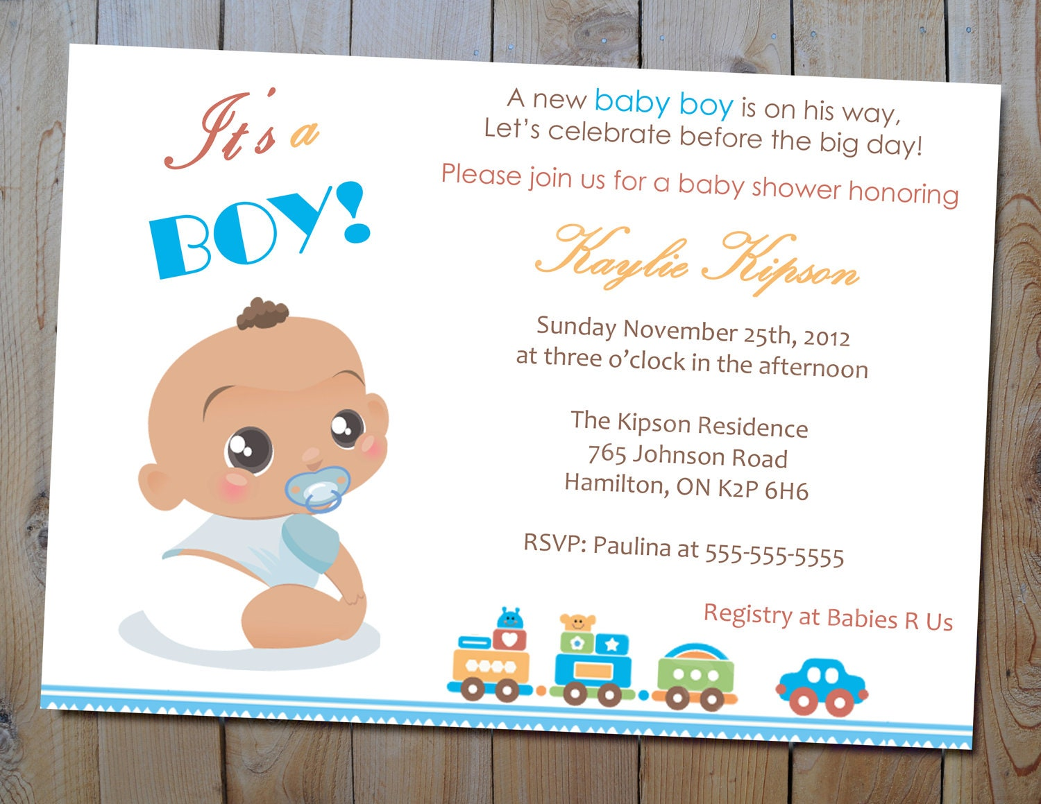 Baby Shower Invitations For A Boy correctly perfect ideas for your invitation layout