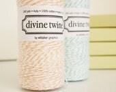 Peach Divine Twine Spool, Baker's Twine