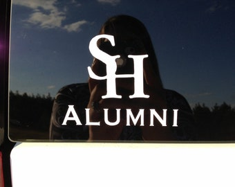 College Alumni Sticker - Sam Houston - Decal - Other Colleges Available!