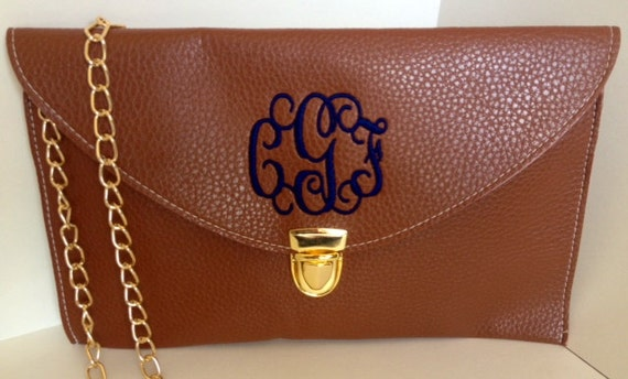 yves saint laurent bags outlet - Monogrammed Clutch by WhiteHouseMonograms on Etsy