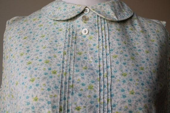 Sweet Floral Peter Pan Collar Dress