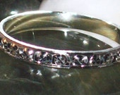 Sterl. Sil. - Starburst Stackable Rings-sz 7