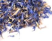 Organic CORNFLOWER PETALS - Centaurea Cyanus - Vibrant Blue Flowers - Dried Cornflowers - Beautiful in Tea, Soap, and Potpourri