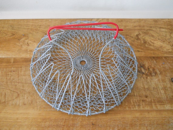 Wire Collapsible Salad Spinner/Basket