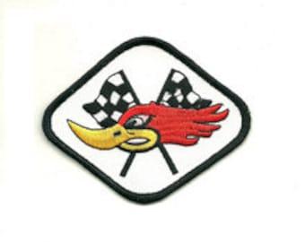 woodpecker racing patch