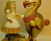 Alice in Wonderland Dodo Kaiyodo Figures