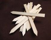 "Garden plant markers wood cypress 9"" x 3/4"" bakers dozen 13"