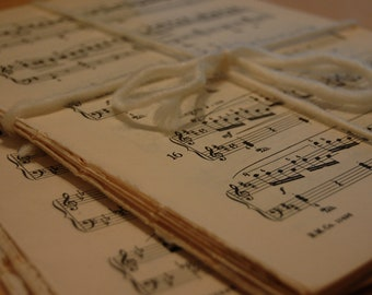 Vintage Sheet Music for framing or crafts