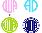 """Pacifier Decal boutique paci """"binky"""" monogrammed decals"""