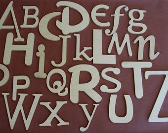 alphabet wooden letter unpainted letters nursery letters alphabet wall set abc wall