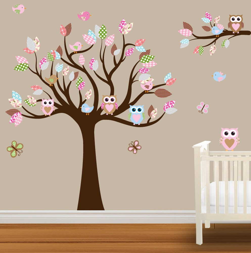Bathroom wall decorations wall stickers for nursery for Baby room decoration wall stickers