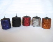 Glitter Votive Candles - Mix and Match and Create Your Own Set
