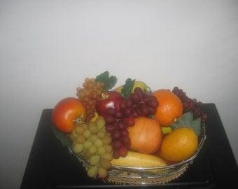 Vintage  Fruit basket home decor