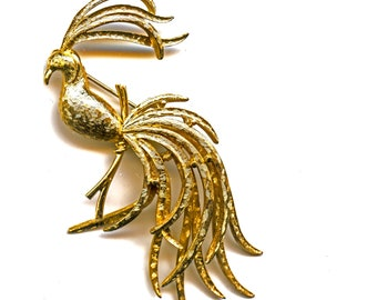 Bird Of Paradise Pin by Avon