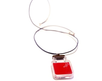 Red, Green, or Blue Potion Necklace