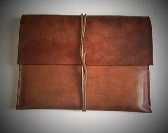 Leather Ipad Pro Sleeve, IPad Pro Leather Case, IPad Pro Case, Full Grain Leather Case, Handmade Leather Case