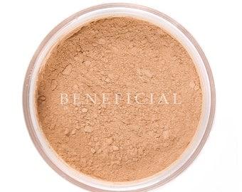 TAN - Foundation Mineral Makeup - Pure Natural Vegan Minerals