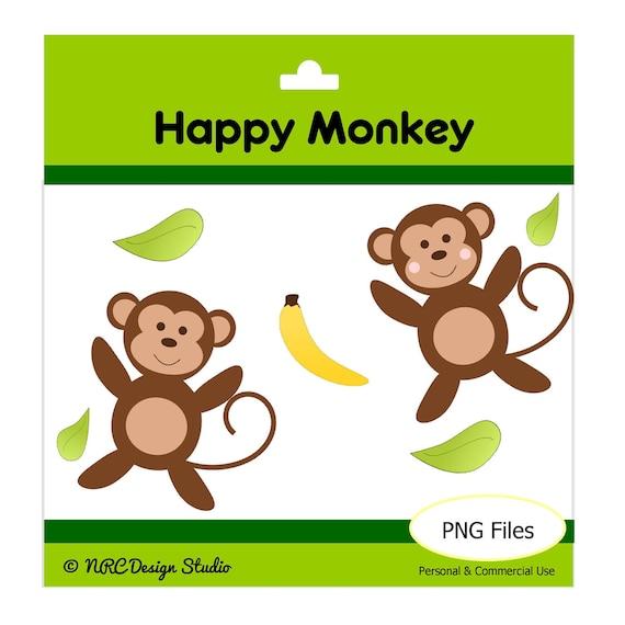 happy monkey clip art - photo #39