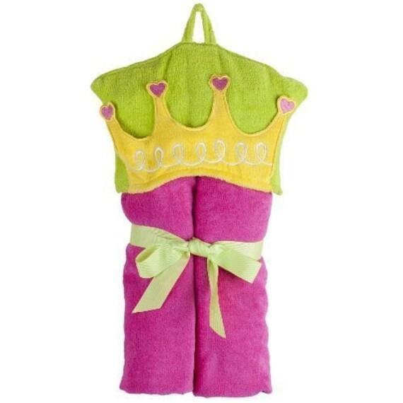 Personalized Princess Bath Towel for kids, Girl Towel,  Hooded Towel