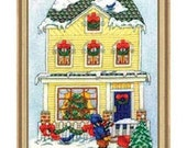 SALE    Cross Stitch Kit - Home for Christmas