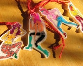 Glam Rock Shrinky Dinks