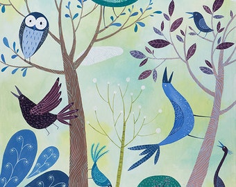 After The Fires. Open edition Giclee print by Tracie Grimwood.