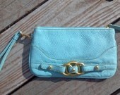 Tiffany blue wallet
