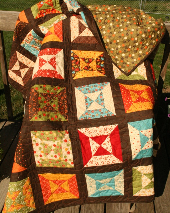 Lollipop Blocks Quilt